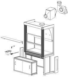 Дополнительное оборудование для вытяжных шкафов