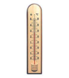 Комнатные термометры на деревянном основании Стеклоприбор